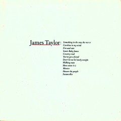 Greatest Hits - James Taylor