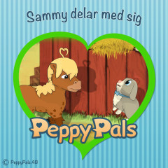 Sammy delar med sig (Ljudbok) - Peppy Pals