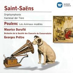 Saint-Saëns:Symphony No.3/Caranaval des animaux/Les Animaux modèles - Georges Prêtre
