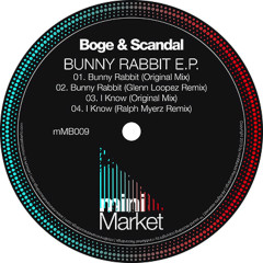 Bunny Rabbit EP - Boge, SCANDAL