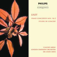 Liszt: Piano Concertos Nos. 1 & 2; Etudes De Concert - Claudio Arrau, London Symphony Orchestra, Sir Colin Davis