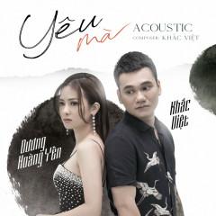 Yêu Mà (Acoustic Version) (Single)