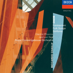 Berio: Formazioni; Folk Songs; Sinfonia - Jard van Nes, Electric Phoenix, Royal Concertgebouw Orchestra, Riccardo Chailly