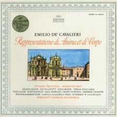 Cavalieri: Rappresentatione di Anima et di Corpo - Tatiana Troyanos, Theo Adam, Wiener Kammerchor, Ensemble Wolfgang von Karajan, Capella Academica, Wien