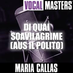 Vocal Masters: Di Quai Soavilagrime (Aus Il Polito) - Maria Callas