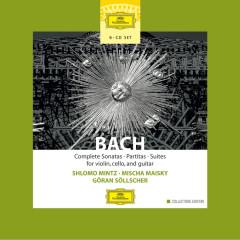 Bach: Complete Sonatas, Partitas & Suties for Violin, Cello & Guitar - Shlomo Mintz, Mischa Maisky, Goran Sollscher