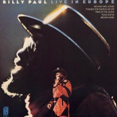 Live In Europe - Billy Paul
