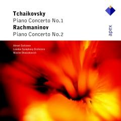 Tchaikovsky : Piano Concerto No.1 & Rachmaninov : Piano Concerto No.2  -  Apex - Maxim Shostakovich, Alexei Sultanov, London Symphony Orchestra