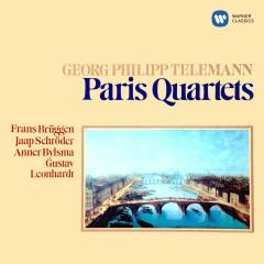 Telemann: Paris Quartets - Frans Brüggen, Jaap Schröder, Anner Bylsma, Gustav Leonhardt