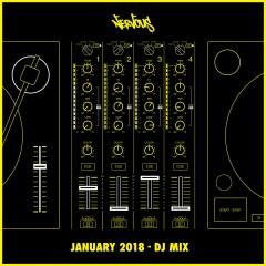 Nervous January 2018 - DJ Mix - Various Artists