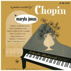 Maryla Jonas: A Piano Recital of Chopin - Maryla Jonas