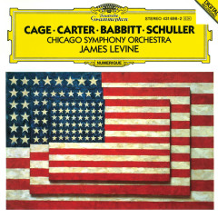 Carter: Variations for Orchestra / Babbitt: Correspondences / Schuller: Spectra for Orchestra / Cage: Atlas eclipticalis - Chicago Symphony Orchestra, James Levine