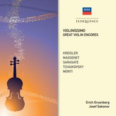 Violinissimo: Great Violin Encores - Erich Gruenberg, Josef Sakonov