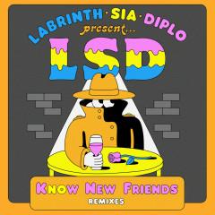 No New Friends (Remixes) - LSD, Sia, Diplo, Labrinth