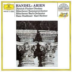 Handel: Arias - Munich Chamber Orchestra, Hans Stadlmair, Münchener Bach-Orchester, Karl Richter