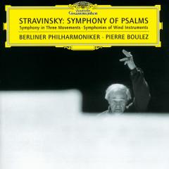 Stravinsky: Symphony of Psalms - Berliner Philharmoniker, Pierre Boulez, Berlin Radio Chorus, Sigurd Brauns