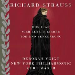 Strauss: Tod und Verklärung, Don Juan & 4 letzte Lieder [4 Last Songs] - Kurt Masur, New York Philharmonic