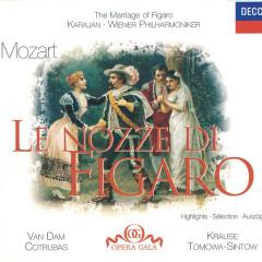 Mozart: Le Nozze di Figaro - Highlights - José van Dam, Anna Tomowa-Sintow, Ileana Cotrubas, Frederica von Stade, Wiener Staatsopernchor