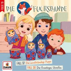 019/Fall 37: Die unvollständige Puppe/Fall 38: Die froschigen Streifen - Die Fuchsbande