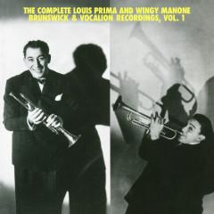 The Complete Louis Prima And Wingy Manone Brunswick & Vocation Recordings, Vol 1 - Louis Prima, Joe
