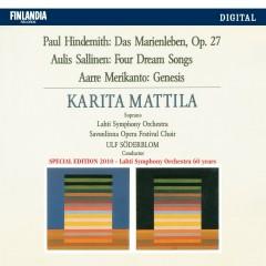 Hindemith / Sallinen / Merikanto - Karita Mattila