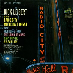 At the Radio City Music Hall Organ