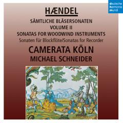 Händel: Sonaten für Blockflöte / Sonatas for Recorder - Camerata Köln