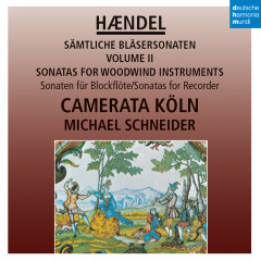 Händel: Sonaten für Blockflöte / Sonatas for Recorder