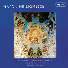 Haydn: Heiligmesse - George Guest, April Cantelo, Shirley Minty, Ian Partridge, Christopher Keyte