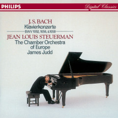 Bach, J.S.: 3 Piano Concertos - Jean Louis Steuerman, Chamber Orchestra Of Europe, James Judd