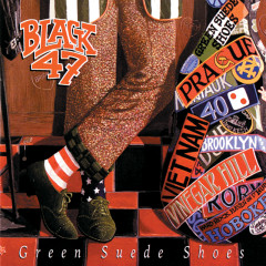 Green Suede Shoes - Black 47