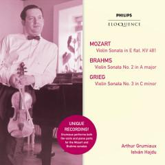 Mozart: Violin Sonata in E Flat; Brahms: Violin Sonata No.2 in A; Grieg: Violin Sonata No.3 - Arthur Grumiaux, Istvan Hajdu