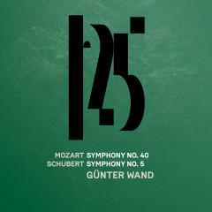 Mozart: Symphony No. 40 - Schubert: Symphony No. 5 (Live) - Münchner Philharmoniker, Günter Wand