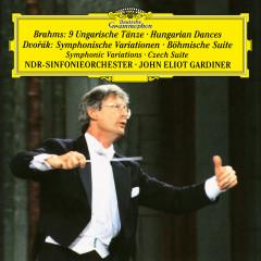 Dvorák: Symphonic Variations, Op. 78, Czech Suite, Op. 39; Brahms: Hungarian Dances - NDR-Sinfonieorchester, John Eliot Gardiner