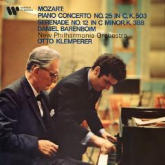 Mozart: Piano Concerto No. 25, K. 503 & Serenade No. 12, K. 388 - Daniel Barenboim, Otto Klemperer, New Philharmonia Orchestra