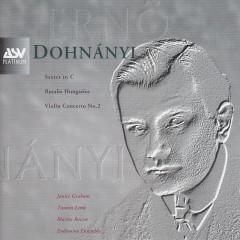 Dohnanyi: Violin Concerto No.2, Ruralia Hungarica, Sextet - Janice Graham, English Sinfonia, John Farrer, Tasmin Little, Martin Roscoe