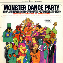 Monster Dance Party - Don Hinson & The Rigamorticians