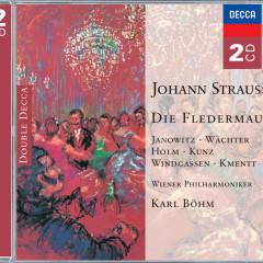 Strauss, J.: Die Fledermaus - Gundula Janowitz, Eberhard Wächter, Renate Holm, Wiener Philharmoniker, Karl Böhm