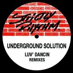 Luv Dancin' (feat. Jasmine) [Remixes] - Underground Solution, JASMINE
