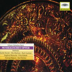Bach, J.S.: Musical Offering, BWV 1079 - Hedwig Bilgram,Otto Büchner,Kurt Guntner,Fritz Kiskalt,Siegfried Meinecke