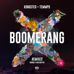 Boomerang (Remixes) - Kongsted, Temmpo