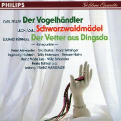 Der Vogelhändler - Schwarzwaldmädel - Der Vetter aus Dingsda - Rita Bartos, Franz Fehringer, Ingeborg Hallstein, Herta Talmar, Willi Hofmann