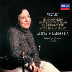 Mozart: Piano Concertos Nos. 19 & 22 - Alicia De Larrocha, Wiener Symphoniker, Uri Segal
