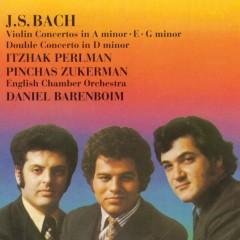 Bach: Violin Concertos/ Double Concerto - Itzhak Perlman, Pinchas Zukerman, English Chamber Orchestra, Daniel Barenboim