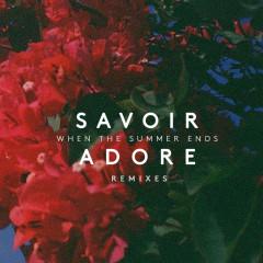 When the Summer Ends (Remixes) - Savoir Adore