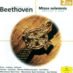 Beethoven: Missa solemnis Op.123 - Messe Op.86 - Margaret Price, Gundula Janowitz, Christa Ludwig, Wieslaw Ochman, Martti Talvela