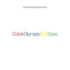 Cübik / Olympic - 808 State