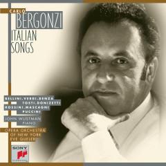 Carlo Bergonzi - Italian Songs - Carlo Bergonzi, John Wustman