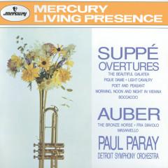 Suppé: Overtures / Auber: The Bronze Horse, etc. - Detroit Symphony Orchestra, Paul Paray