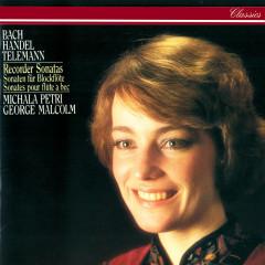 Recorder Sonatas By Bach, Telemann, Handel, Schickhardt & Frederick II - Michala Petri, George Malcolm